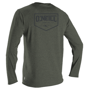 Lycra Man Oneill Blueprint L/S Sun Shirt | Ghostgreen