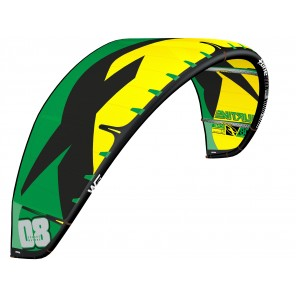 Latawiec F-One Furtive V1 2017 | Black/Yellow/Green
