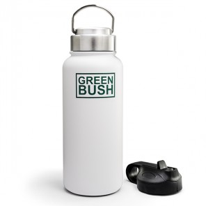 Butelka Greenbush Flask 946 ml | White