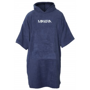 Manera Poncho Ink Blue